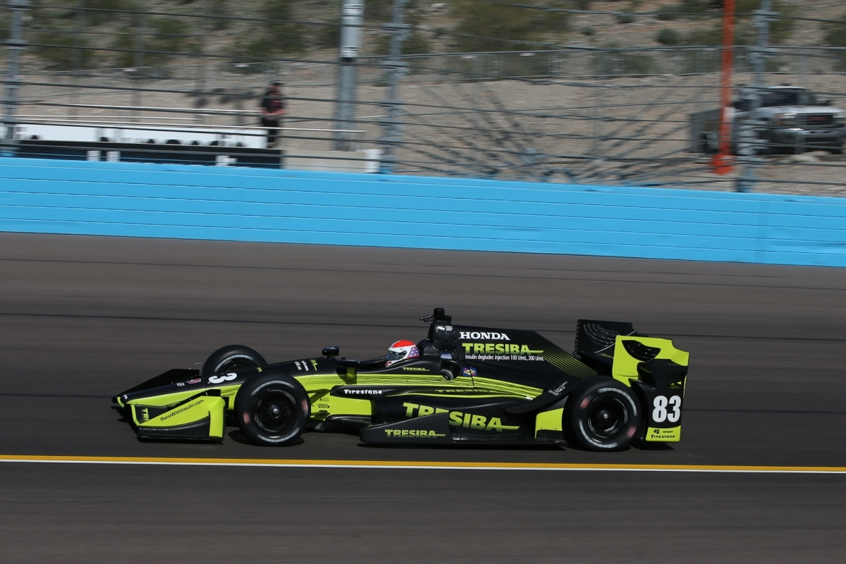 2017 Prix View Open Test at Phoenix Raceway
